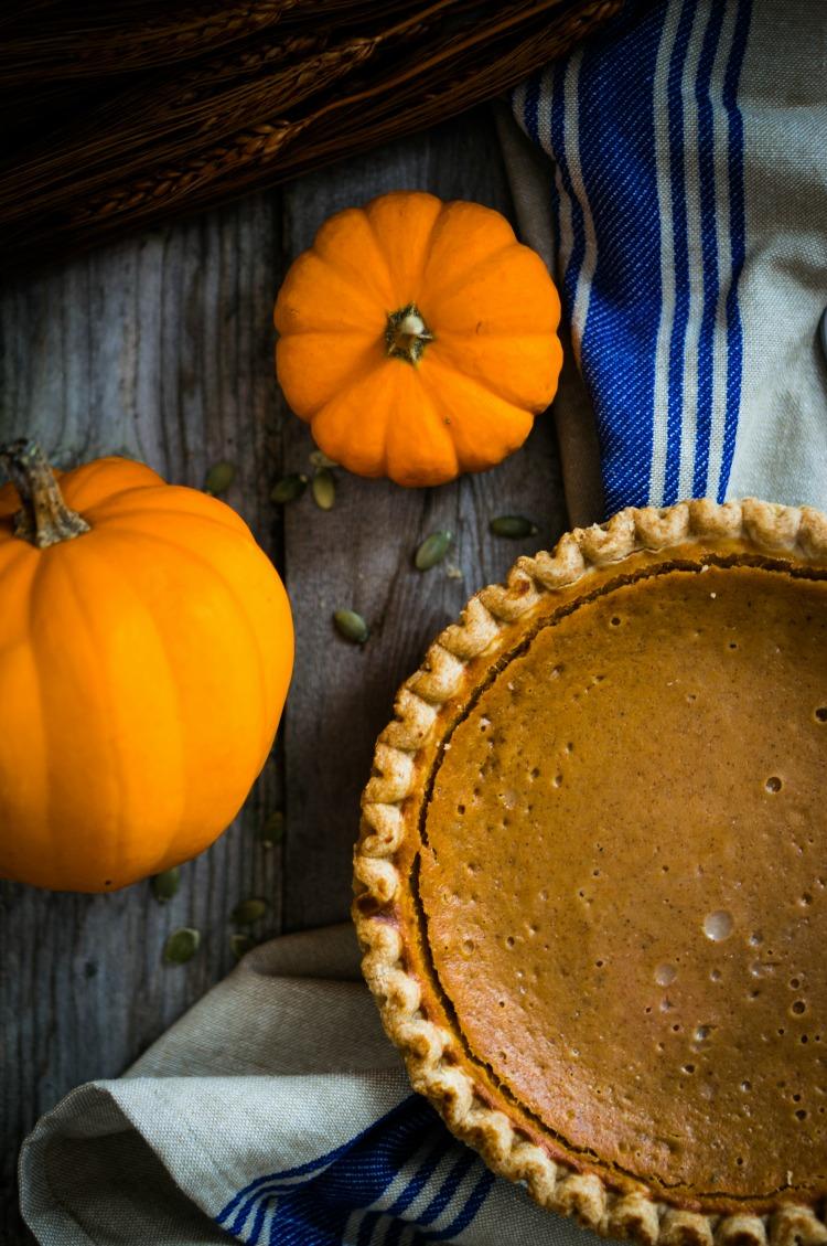 Pumpkin Pie from Walking on Sunshine Recipes