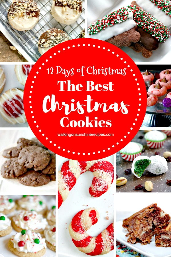 The Best Christmas Cookies are featured this week with our Delicious Dishes Recipe Party and our 12 Days of Christmas Celebration.