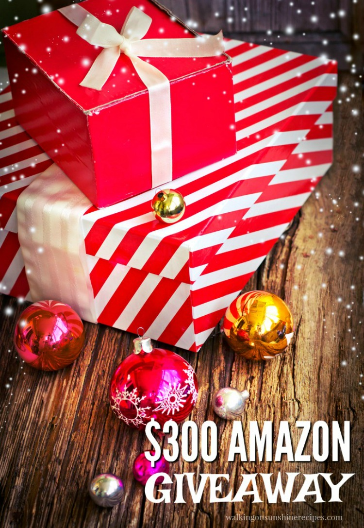 $300 Amazon Giveaway