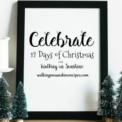 12 Days of Christmas Celebration