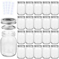 Mason Jars with Regular Lids and Bands