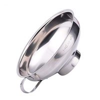 Stainless Steel  Wide Mouth Jar Funnel