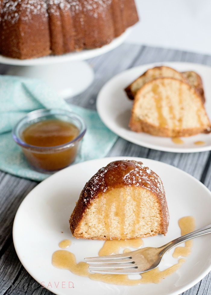 Brown Sugar Bundt Cake from She Saved