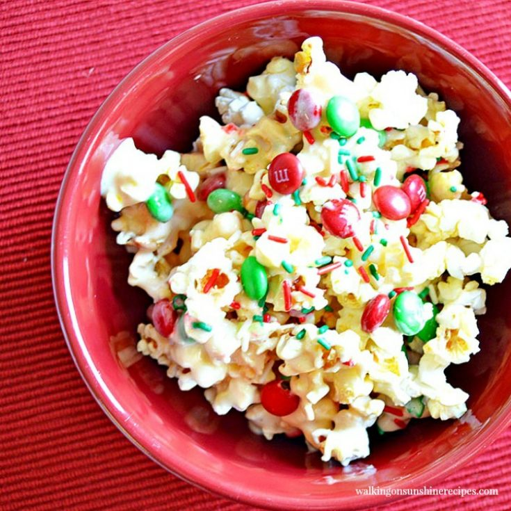 Sweet and Salty Candy Popcorn
