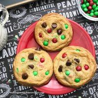 M&M Pieces Cookies