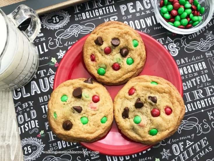 M&M Pieces Cookies