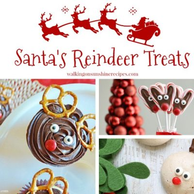 15 Santa Reindeer Treats