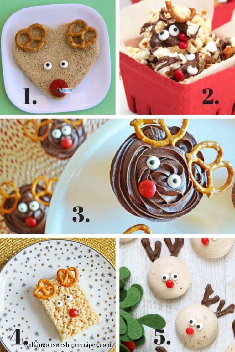 Santa Reindeer Treats are featured on the blog today as part of our 12 Days of Christmas Celebration.