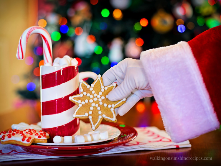 Santa Claus and Christmas Cookies - The Best Christmas Cookies are featured this week with our Delicious Dishes Recipe Party and our 12 Days of Christmas Celebration.