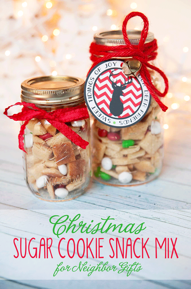 Sugar Cookie Snack Mix from Frog Prince Paperie