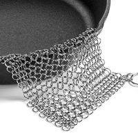 316 Stainless Steel Chain Maille Scrubber