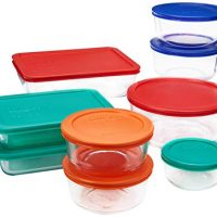 Glass Food Container Set
