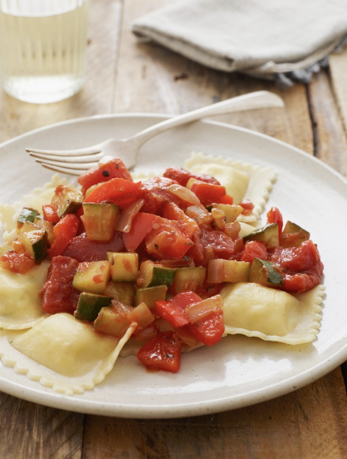Cheese-Ravioli-with-Summer-Vegetables