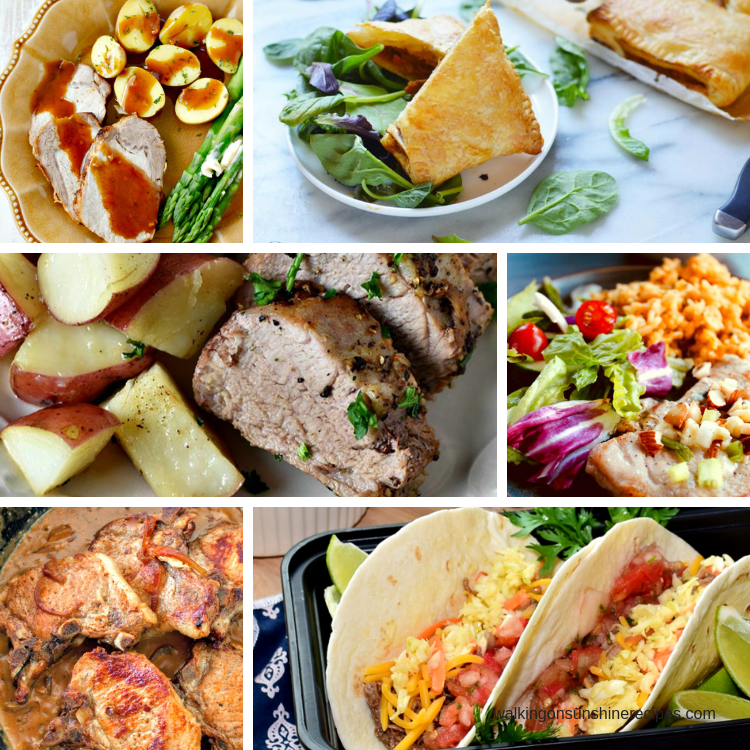 Easy Pork Dinner Recipes are featured this week with our Delicious Dishes Recipe Party.