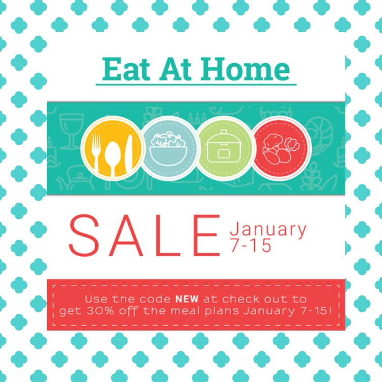 Meal Planning made easy for you with the Eat at Home Weekly Meal Plan. Get get access to four plans, freezer cooking plans, easy recipes and grocery lists!
