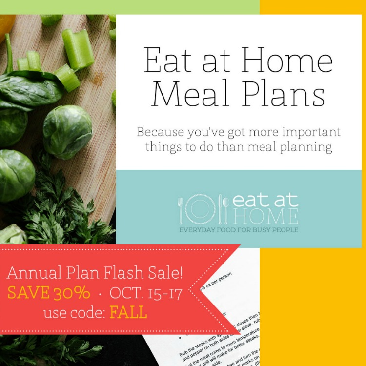 Fall 2019 Eat at Home Sale
