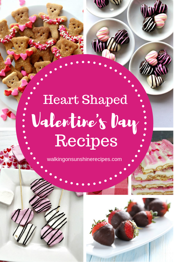 Heart Shaped Sweets and Treats perfect for Valentine's Day are featured this week.