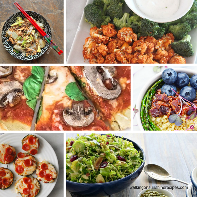 Easy Keto-Friendly Recipes are featured this week. Let us help you stay on track with your diet and healthy eating goals!