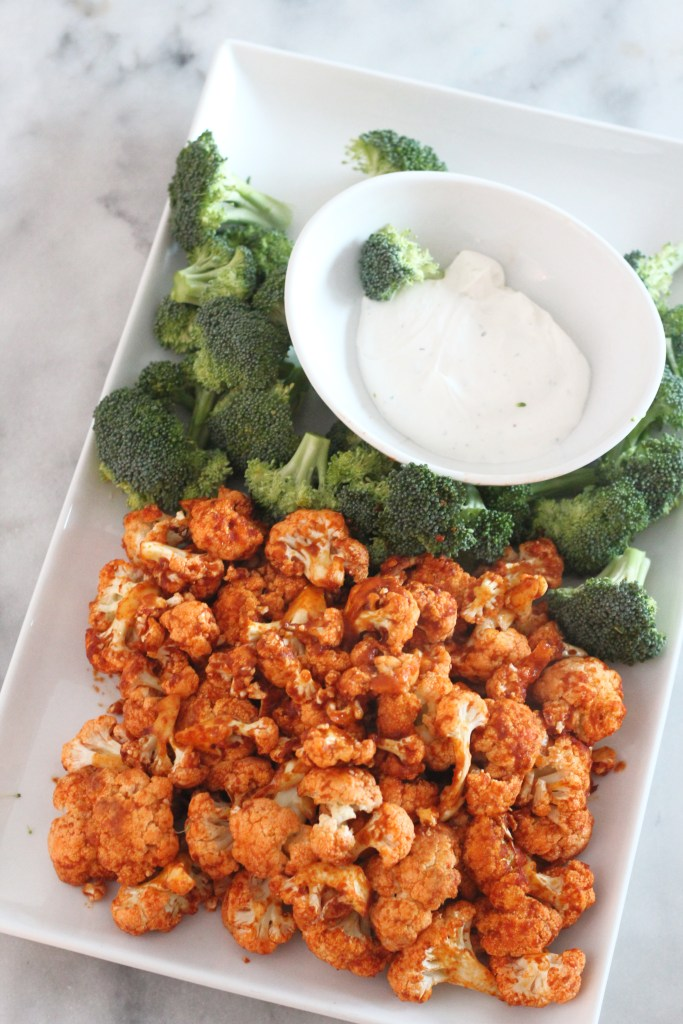Low Carb Air Fried Buffalo Cauliflower from Low Carb Delish