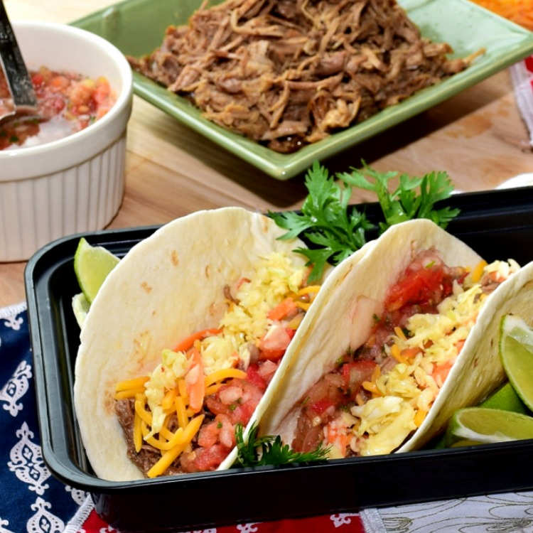 Pulled Pork Tacos from A Proverbs 31 Wife