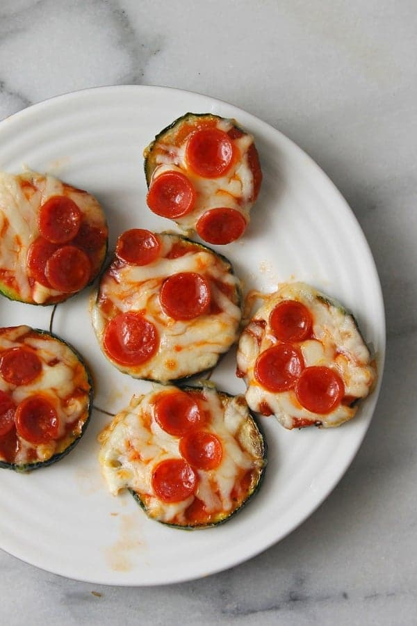 Zucchini Pizza Bites from Wonder Mom Wannabe