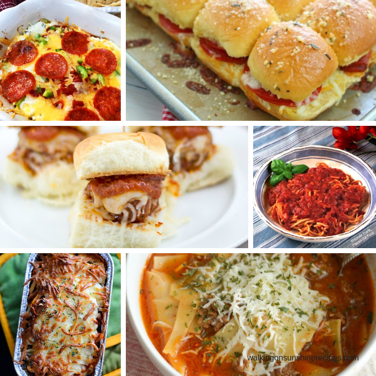 Best Italian Recipes for dinner are featured this week with our Delicious Dishes Recipe Party!