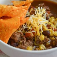 Beef Taco Soup from Mommy Hates Cooking