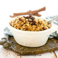 Lumberjack Oatmeal {Stovetop Oatmeal with Raisins & Nuts}