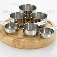 Stainless Steel Measuring Cup Set, 6 Piece