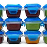 Food Storage Containers, Set of 12, 3 ounces each