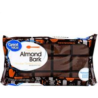 Chocolate Almond Bark, 24 oz
