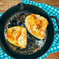 Cast Iron Pan-Roasted Chicken Breasts