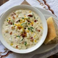 Pressure Cooker Chunky Potato Cheese Soup