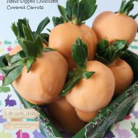 Hand-Dipped Chocolate Covered Carrots