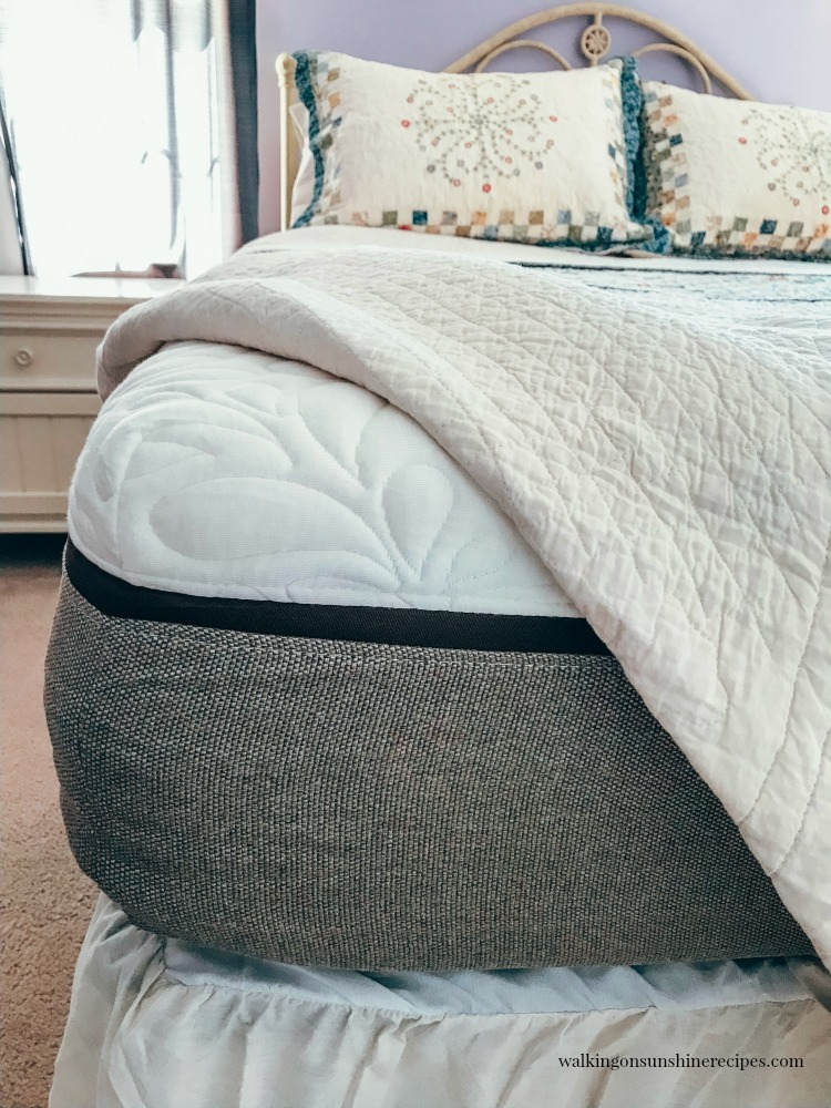Live and Sleep Mattress Review from Walking on Sunshine Blog