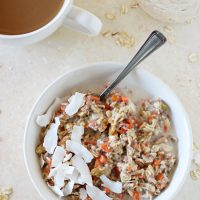 Morning Glory Overnight Oats