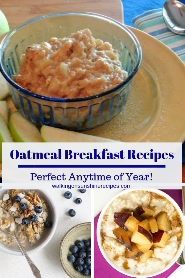 14 Healthy Oatmeal Breakfast Recipes that are so delicious you might forget you're eating oatmeal!