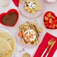 French Crepes Pancake Recipe