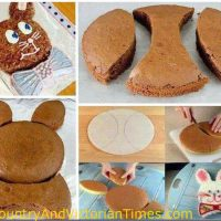 Peter Rbbit Easter Cake – Without Shaped Pan