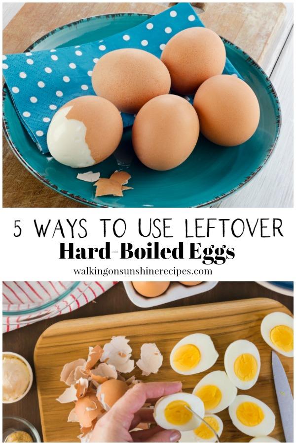 recipes for leftover hard-boiled eggs