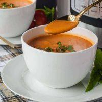 Wholesome Instant Pot Creamy Tomato Soup