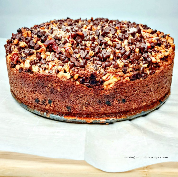 Day Six - Chocolate Chip Streusel Coffee Cake with Walnuts