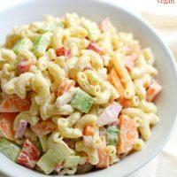 Classic American Macaroni Salad