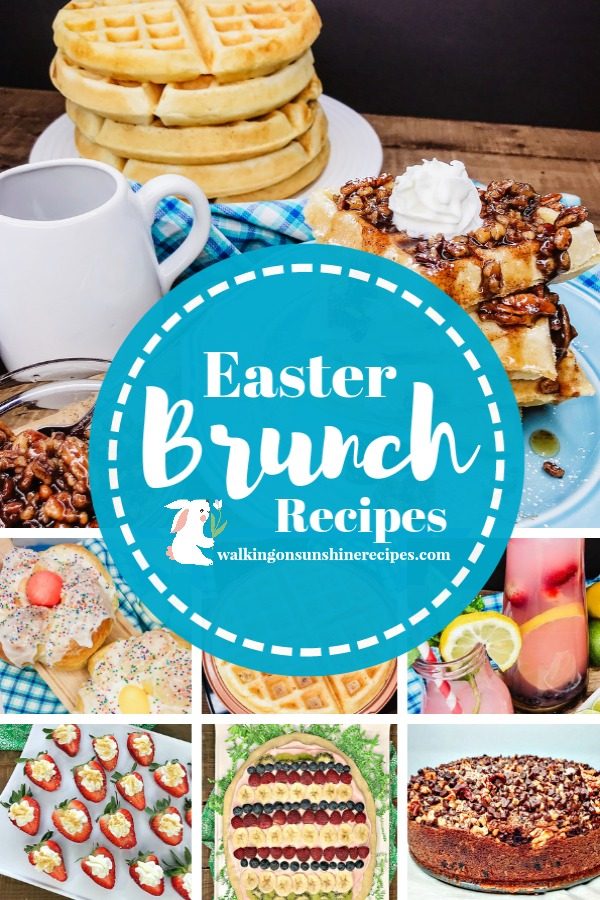 Brunch recipes perfect for Easter Sunday