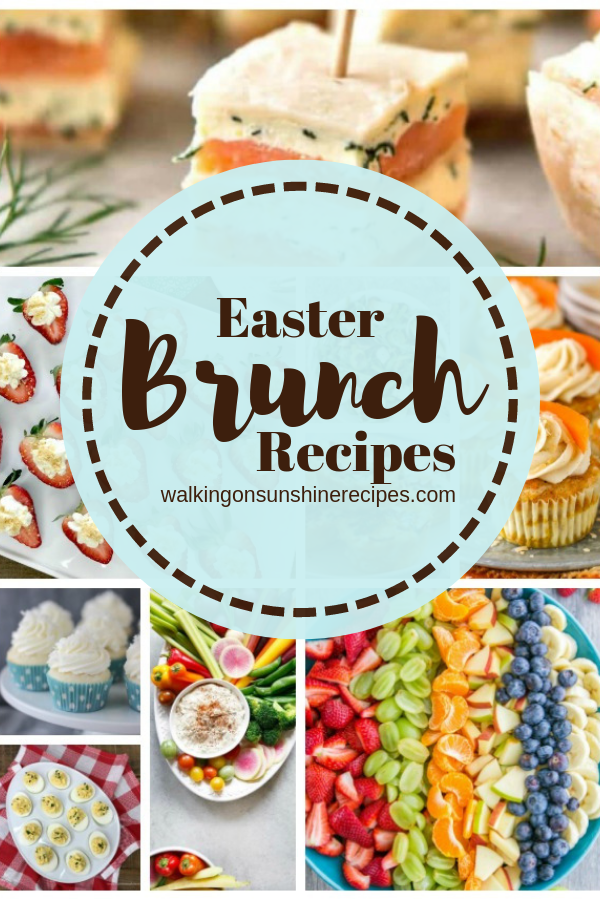 A great collection of Easter Brunch recipes.