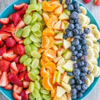 Fruit Salad Recipe, Healthy Fruit Salad with Honey Glaze