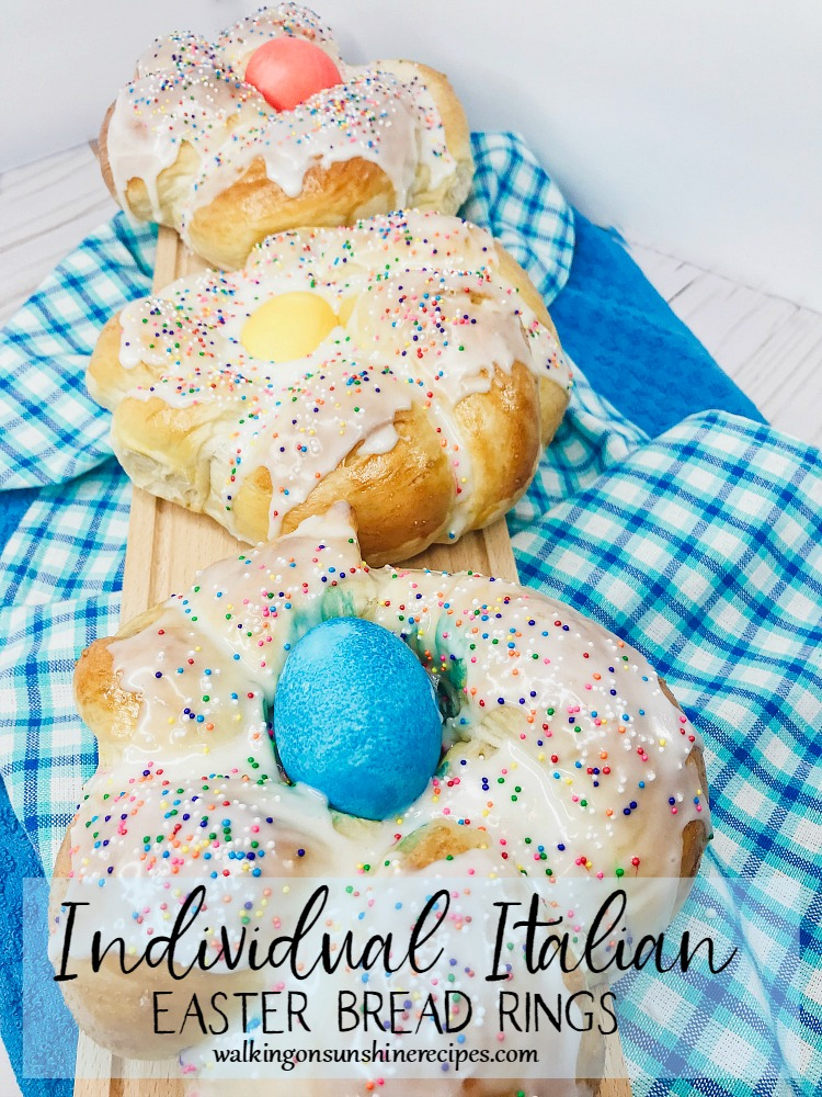 Mini Italian Easter Bread Rings