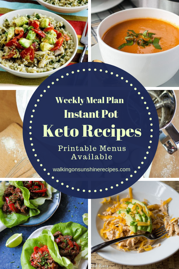 Keto Recipes made in the Instant Pot