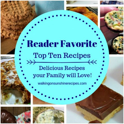 Reader Favorite Top Ten Recipes