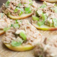 Apple Tuna Salad Sliders